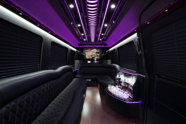 12 Passenger Party Buses Omaha