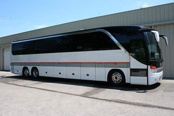 Omaha 56 Passenger Charter Bus